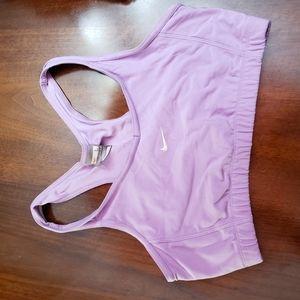 Nike sport bra lilac large